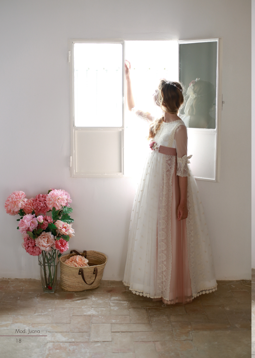 Precios vestidos comunion mercedes de alba